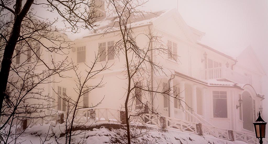 Snow Storm in Oslo