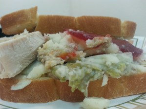 The ACE sandwich. It took 2 days to finish this!