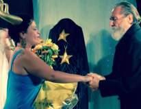 Poet Laureate Peter Hargitai sharing poetically his love for the divine feminine