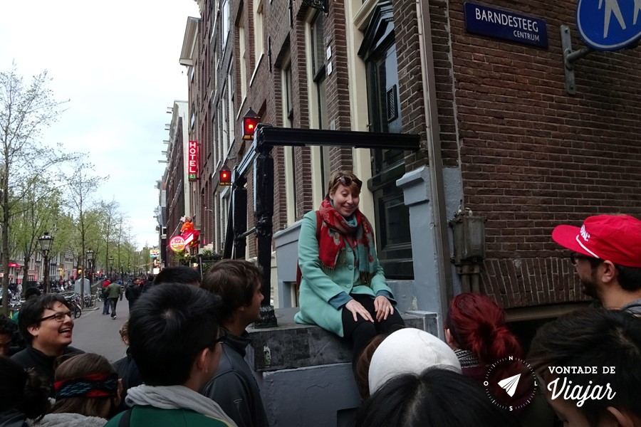 Free walking tour na Europa - Red Light District Amsterdam