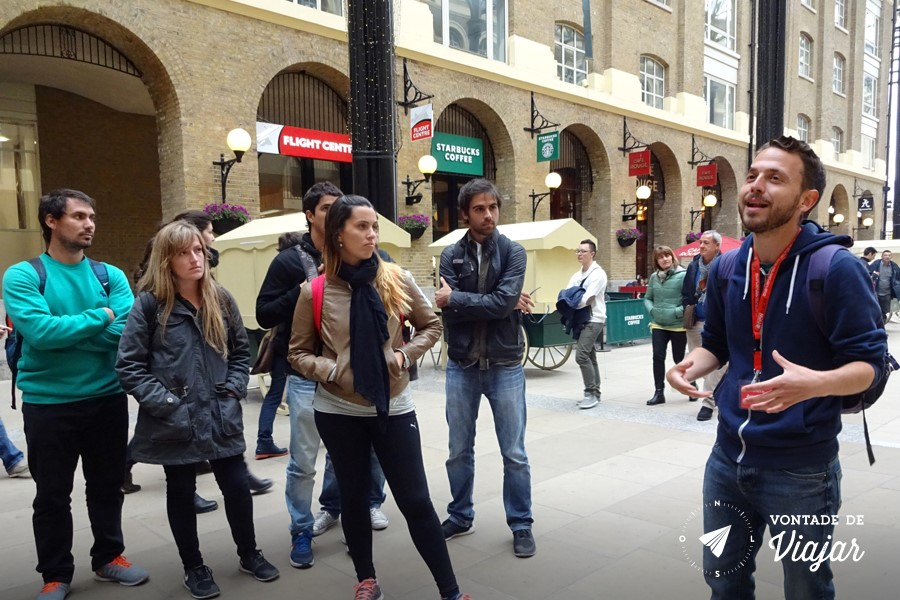 Free walking tour na Europa - South Bank Londres