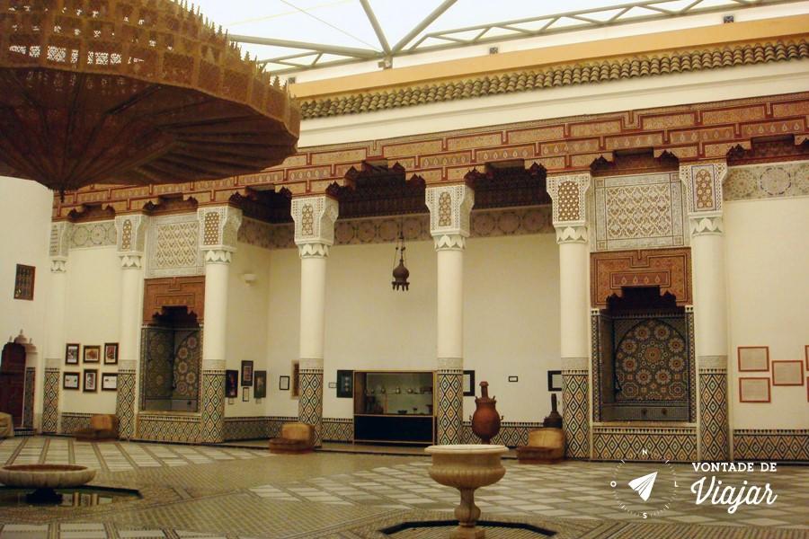 Marrakech Museum - Museu de Marraquexe (blog Vontade de Viajar)