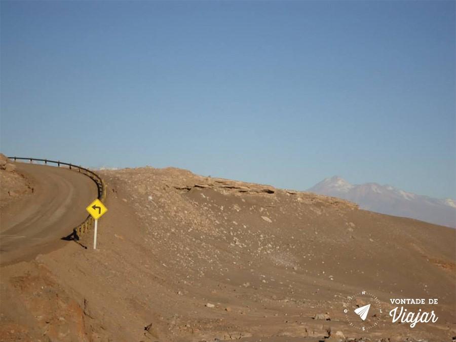 Deserto do Atacama - Estrada - foto Caroline Pereira