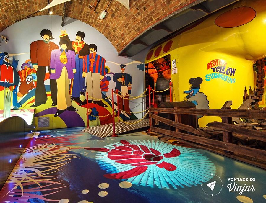 Exposição Beatles Story