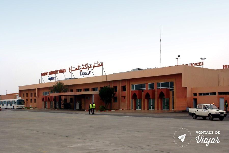 Marrakech - Menara Airport (blog Vontade de Viajar)