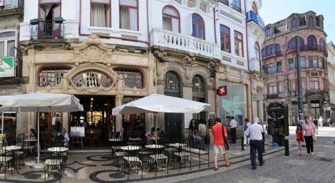 Cafe - Majestic Cafe no Porto (foto de Faye and Steve)
