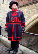 Beefeater: guarda do castelo