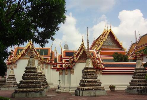 Pátio do Wat Pho