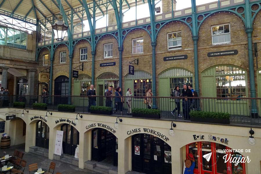Londres Covent Garden - Lojas em Londres