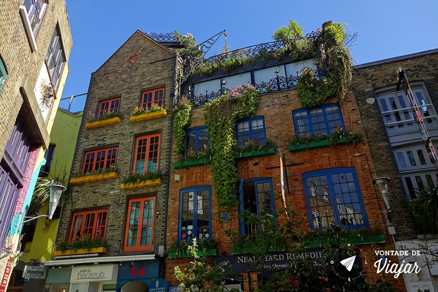 Londres Covent Garden - Neals Yard