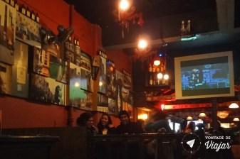 Burlesque, pub com comida mexicana