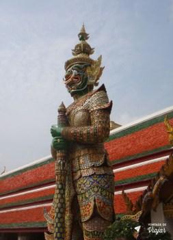 Bangkok - Grand Palace estatuas