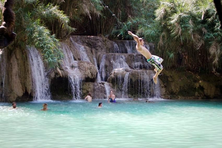 Luang Prabang - Cachoeira de Kuang Si