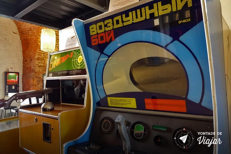 Museu do Arcade St Petersburgo - Fliperama russo