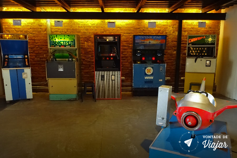 Museu do Arcade St Petersburgo - Fliperama sovietico