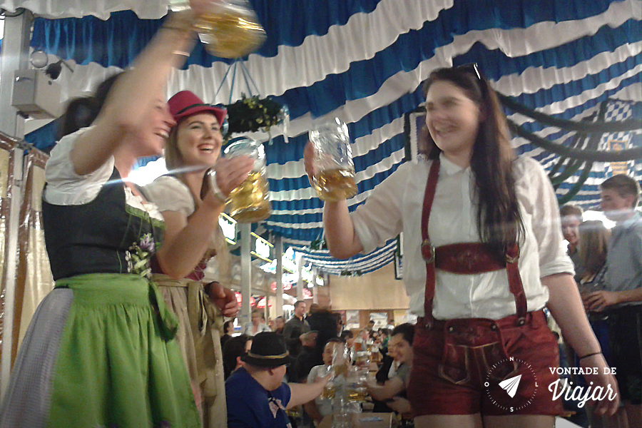 Oktoberfest de Munique - Brinde