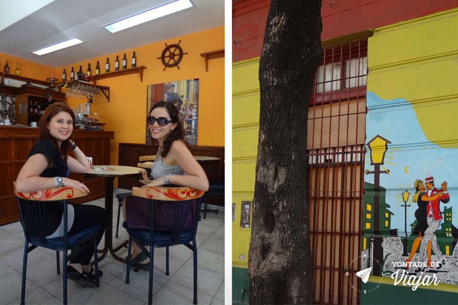La Boca - Lanchonete em que Maradona tomava cafe da manha
