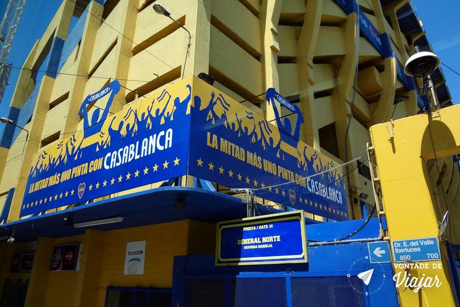 La Boca - O estadio La Bombonera