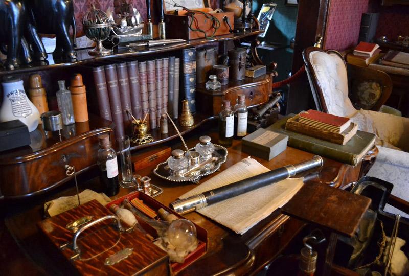 Sherlock Holmes Museum em Londres Backer Street 221b
