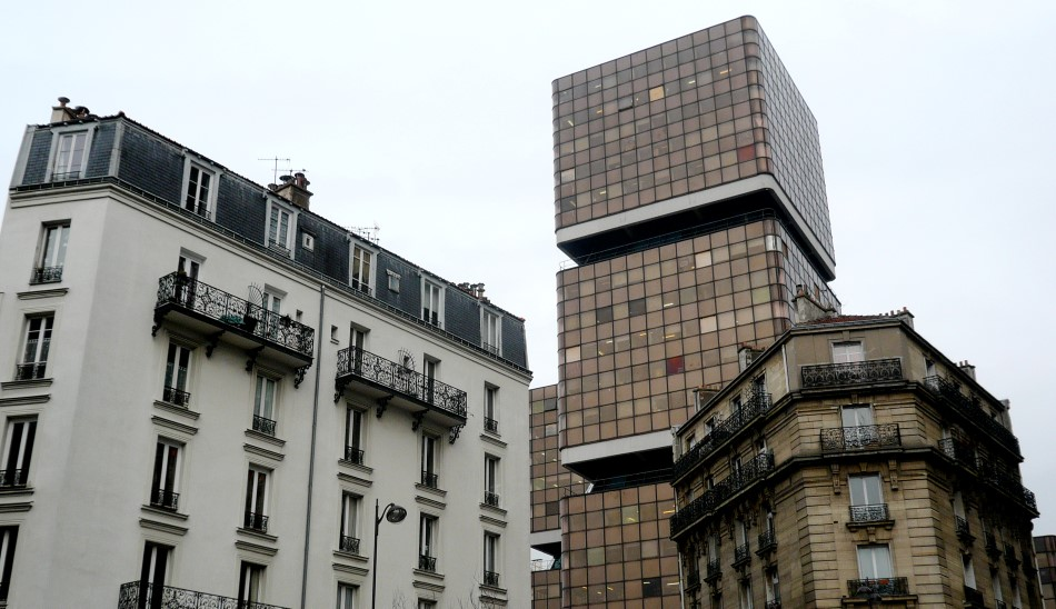 Chinatown Paris - Predio novo e antigo 13eme - foto Hotels HPRG