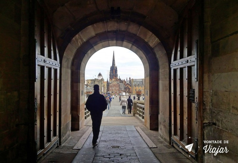 Edimburgo Old Town - 9 seculos de historia no Castelo de Edimburgo