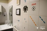 Onde ficar em Lisboa - Banheiro do hostel em Lisboa