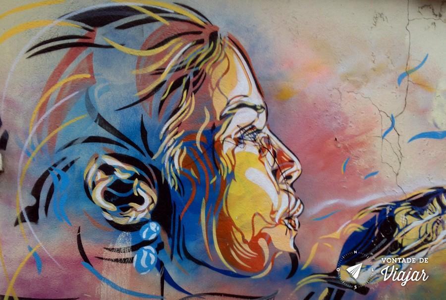 Street Art em Paris - Graffiti no 10eme Paris