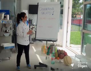 Carpigiani - Universidade do Gelato em Bolonha - Aprendendo tudo sobre sorvete