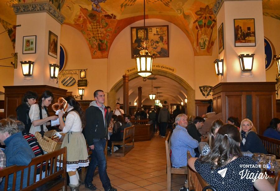 Beerhalls em Munique - Hofbrauhaus em Munique