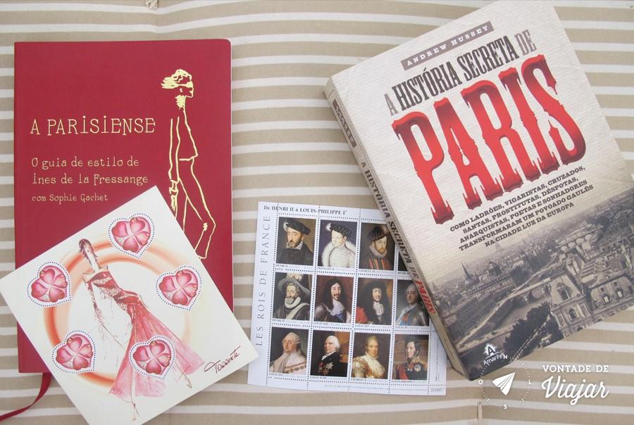 Colecao de selos - Selos da Franca
