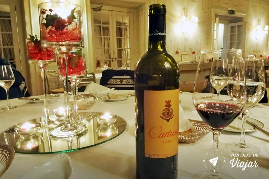 Sintra Eca de Queiroz - Jantar em Seteais Hotel Tivoli