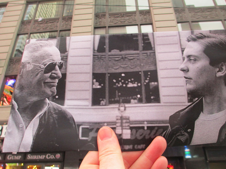 nova-york-super-herois-stan-lee-no-filme-homem-aranha-em-frente-ao-hard-rock-cafe-na-7a-avenida-foto-de-christopher-moloney