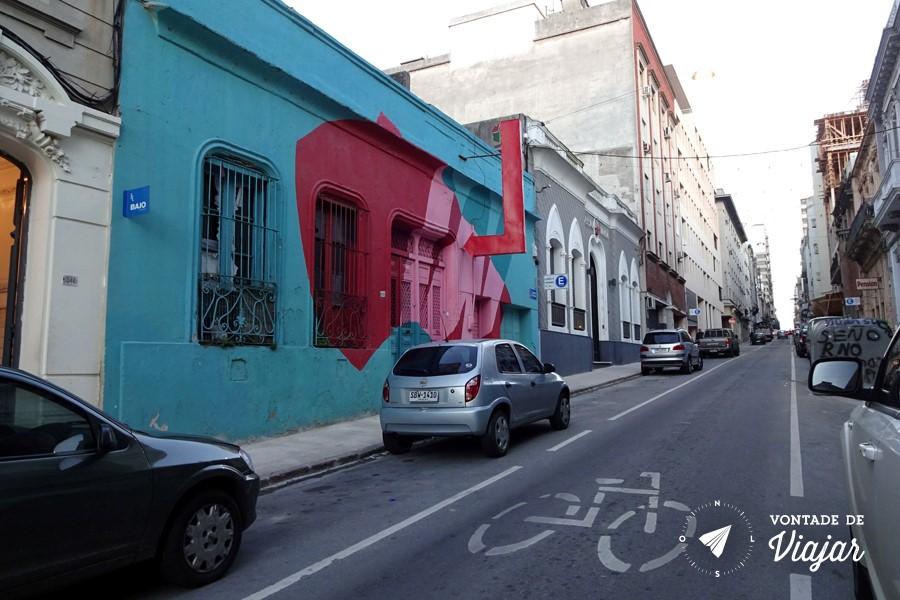 Street art em Montevidéu - Casa Wang coletivo de arte