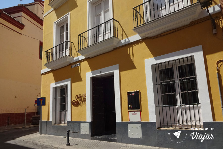 Hostel em Sevilha - Black Swan na Calle Bilbao