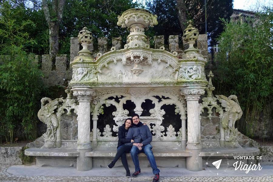Portugal - Jardim da Quinta da Regaleira Sintra