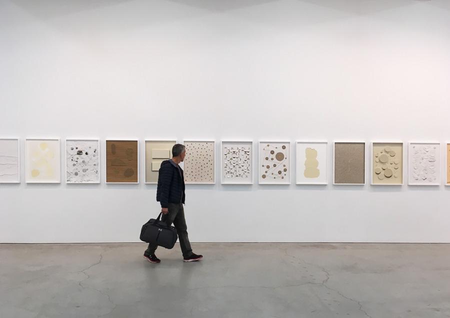Galerias de arte em Nova York - Vik Muniz na Sikkema Jenkins - Foto Julia Duarte