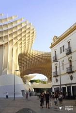 Las Setas de Sevilha - Metropol Parasol em Sevilha