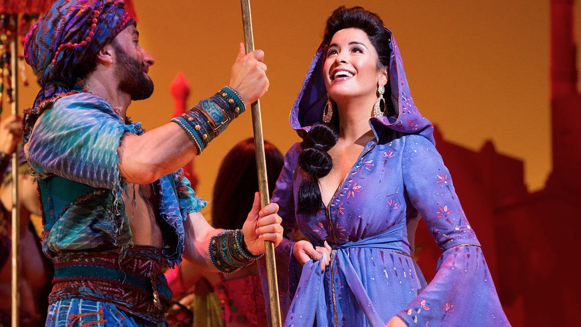 NY Broadway - Musical Aladdin - Foto Cylla von Tiedemann