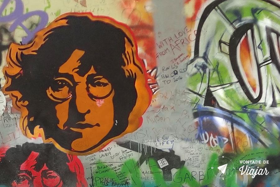 Viagens John Lennon - Lennon Wall em Praga