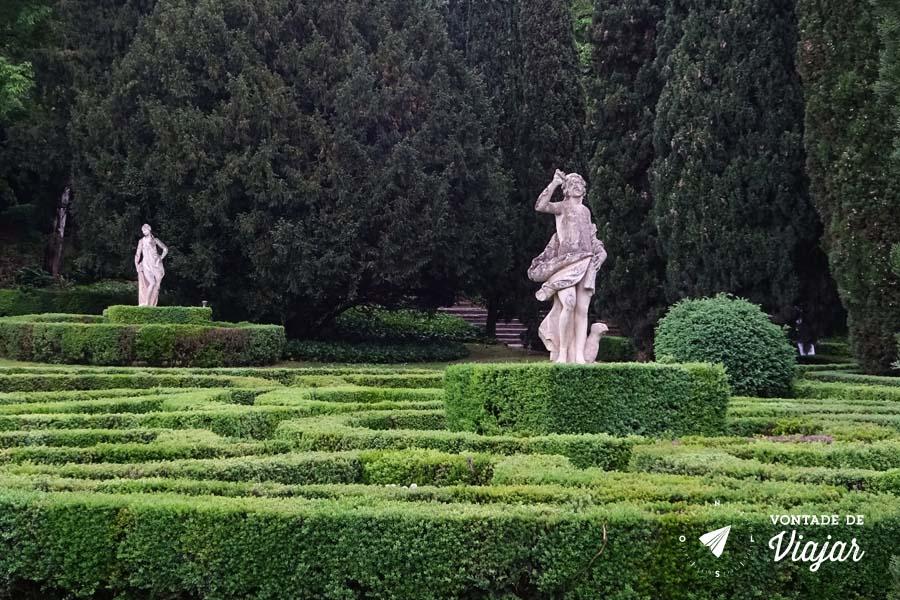 O que fazer em Verona - Giardino Giusti Jardim Renascentista