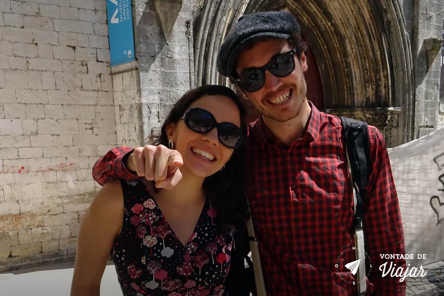 Tour em Lisboa - Nanda e Elliot