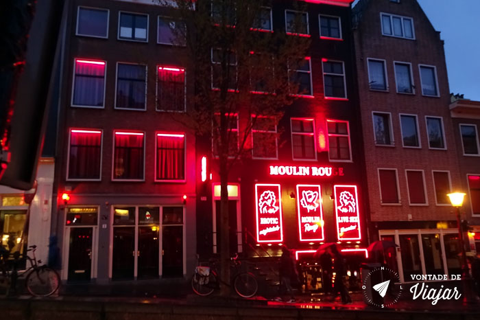 Amsterdam - Red Light District - Moulin Rouge