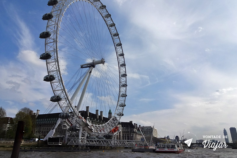 Londres Roda Gigante London Eye