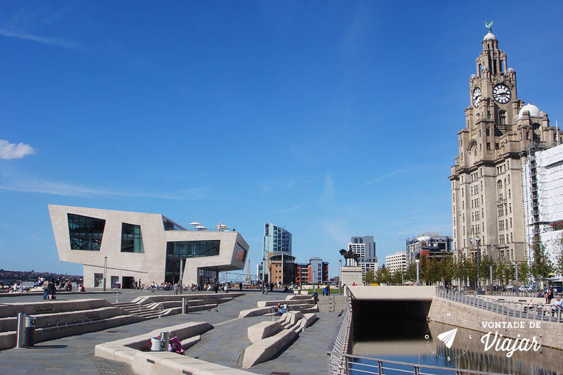 Liverpool Waterfront arquitetura