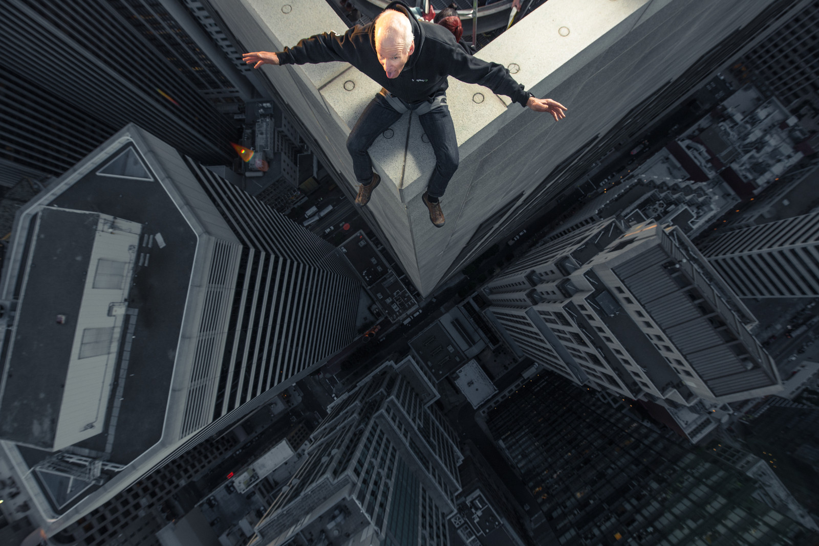 Chris MacAskill on skyscraper