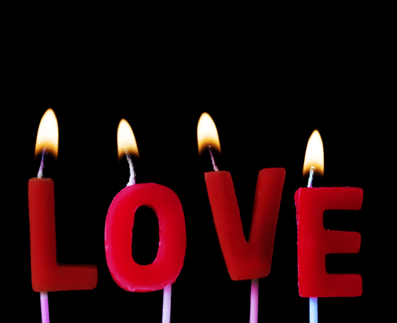 Love Spells with Red Candles