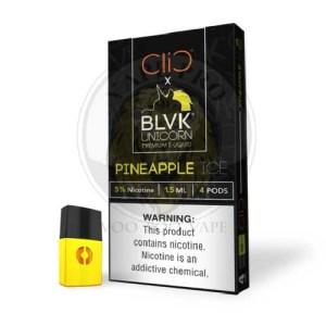 CLIC BLVK Salt Nic Oily Cartridge 4pcs/pack
