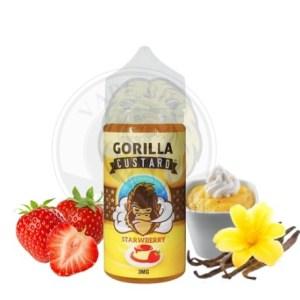Gorilla Custard Strawberry By E&B, 100ml, 3mg