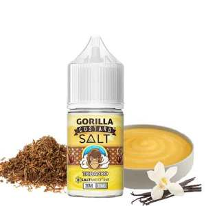 Gorilla Custard Salt - Tobacco