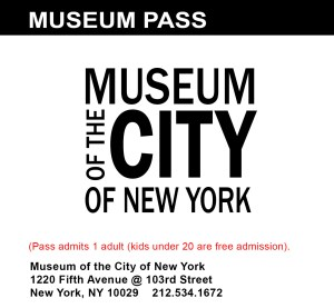 Museum of the City of New York Pass